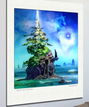 Invocation - Ltd Edition Print -Wall-art-sizing - Gregg Lauer Visionary Art